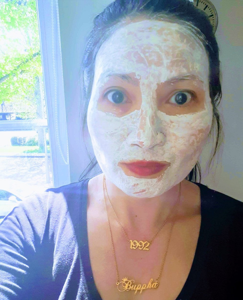 beautiful skin face mask by sparkly dolls