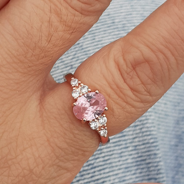 Pink Stone Ring - Sparkly Dolls