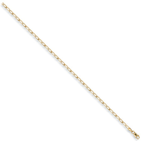 Rada Anklet in 9ct Yellow Gold - Sparkly Dolls