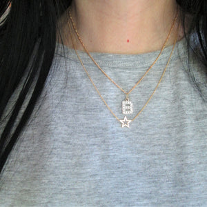 You Are My Star Necklace in 9ct Gold - Sparkly Dolls