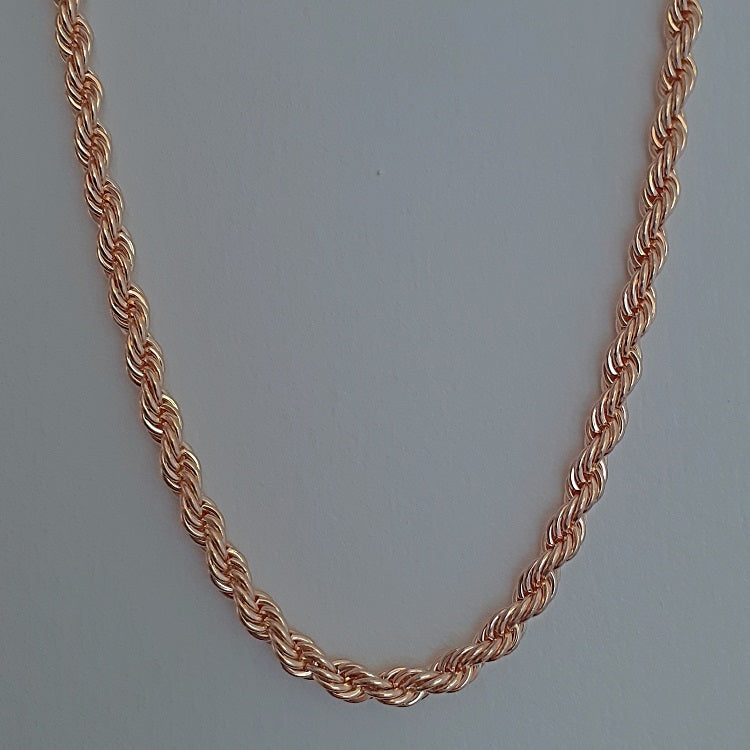 Rope Chain Gold 5mm - Sparkly Dolls