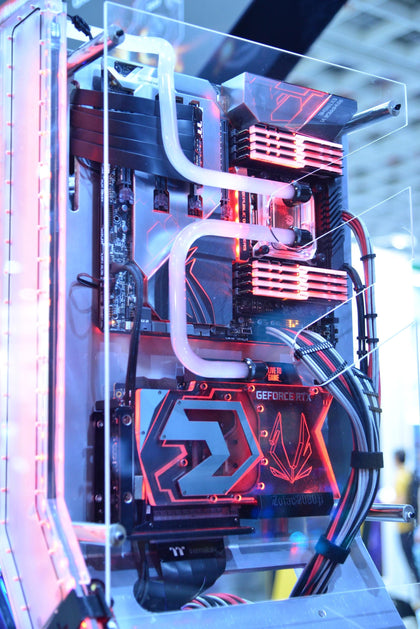 The image of a gaming desktop computer.