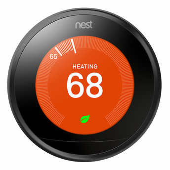 picture of the Nest thermostat