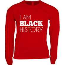 Load image into Gallery viewer, I Am Black History Long Sleeve Shirt