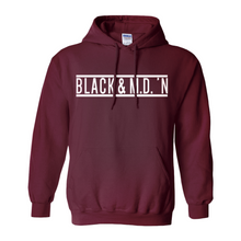 Load image into Gallery viewer, Black & M.D.'N Hoodie