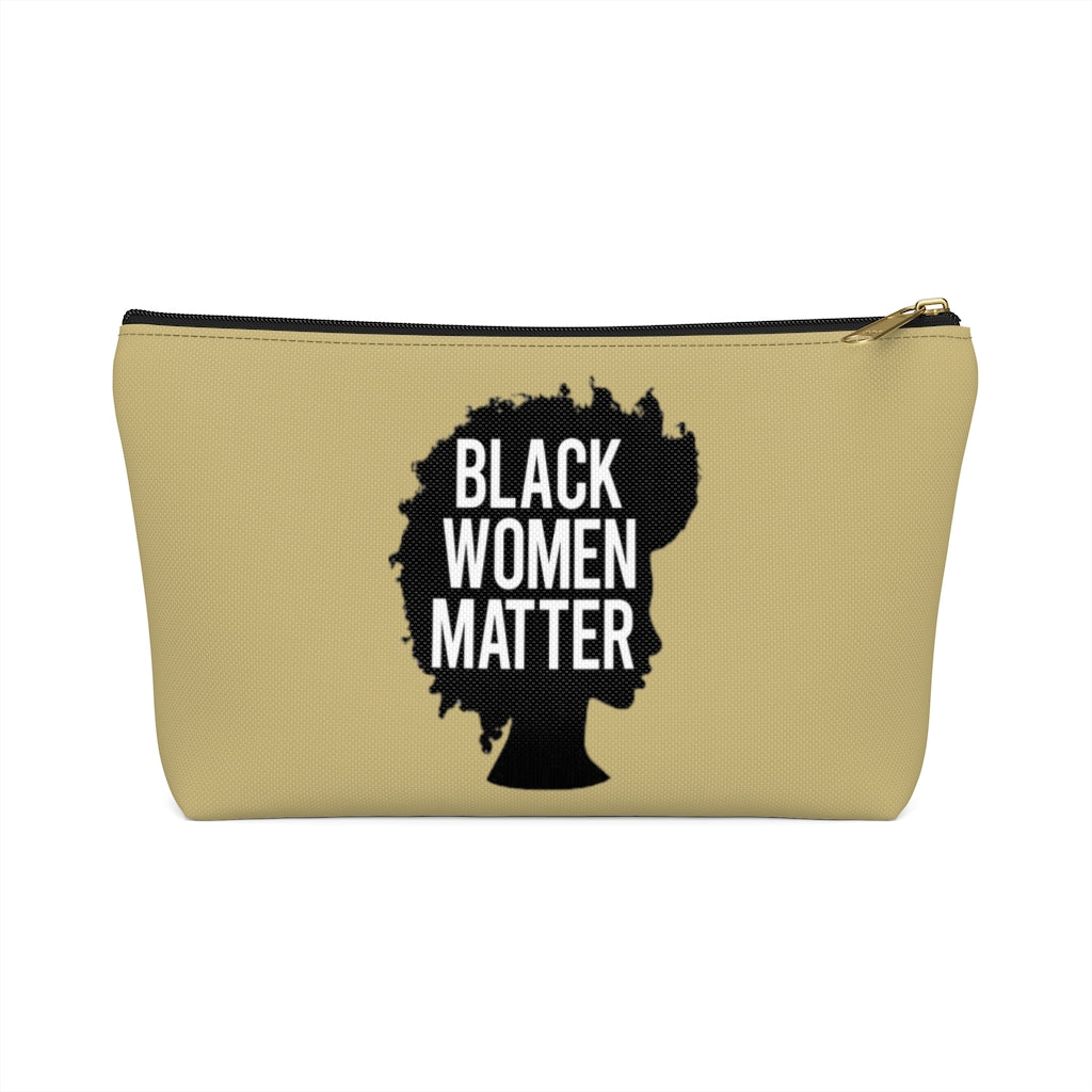 Black Women Matter clutch bag