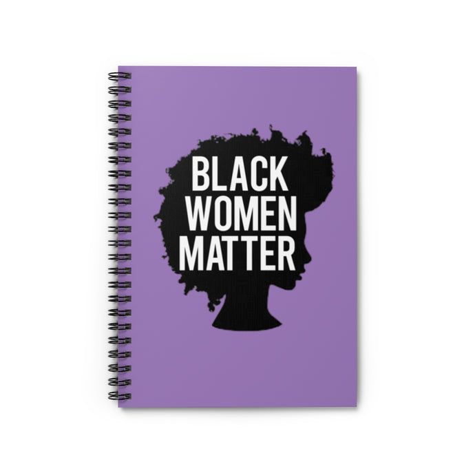 Black Women Matter Notebook