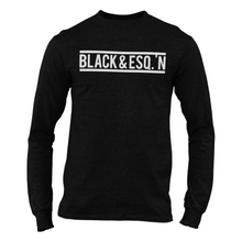 Load image into Gallery viewer, Black & Esq.'N Long Sleeve Shirt