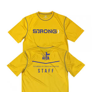 Performance Staff Tee - Yellow