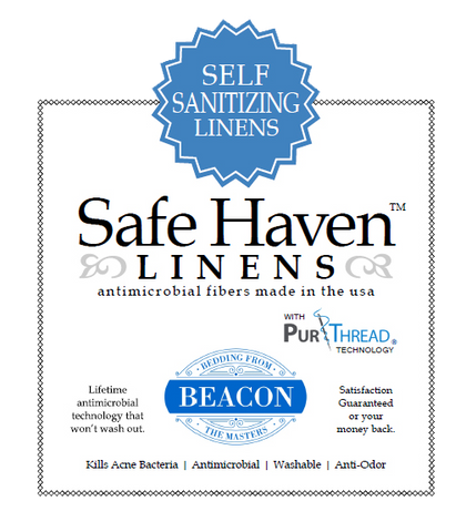 Safe Haven Linens - Self-Sanitizing Sheets
