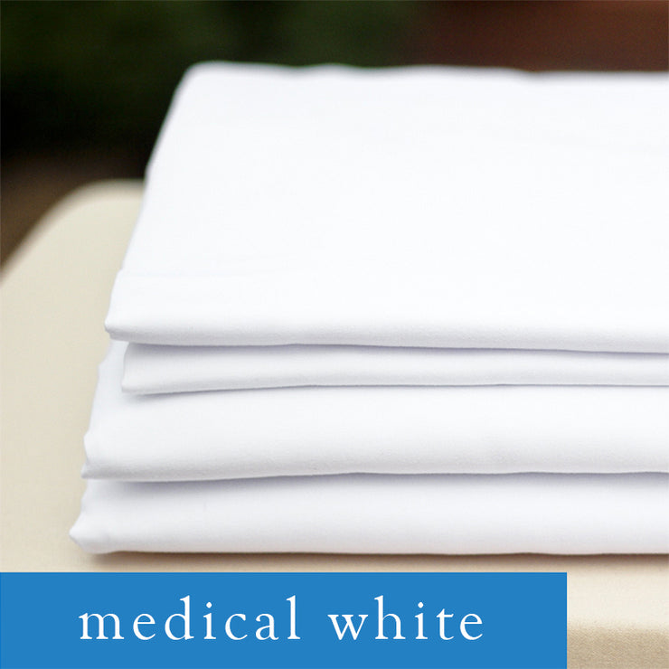 Medical Sheet Set: White