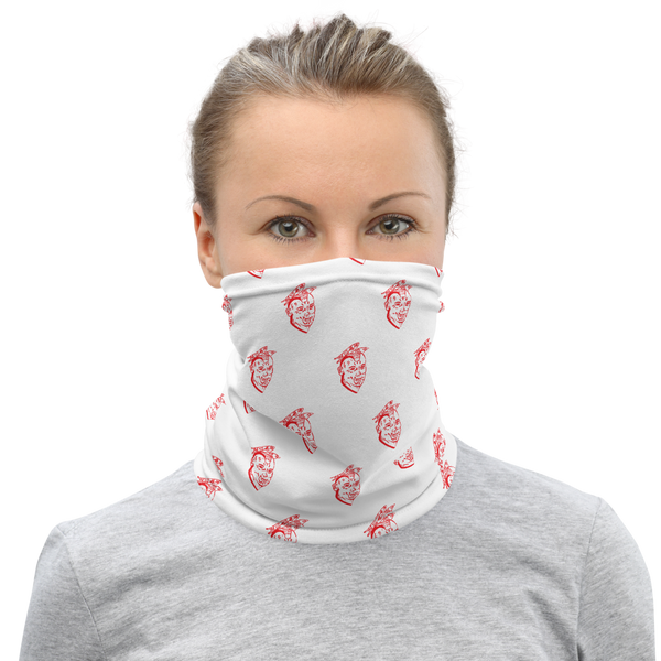 "Lourdes ""White Out"" Neck Gaiter"