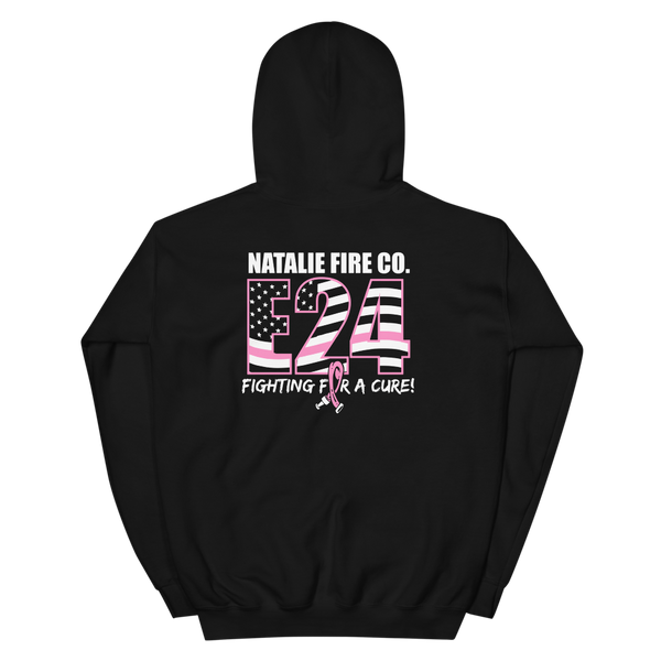 Natalie Fire Co. Breast Cancer Awareness Small Ribbon Hoodie