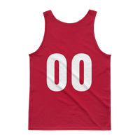 Lourdes Basketball Customizable Red Tank top