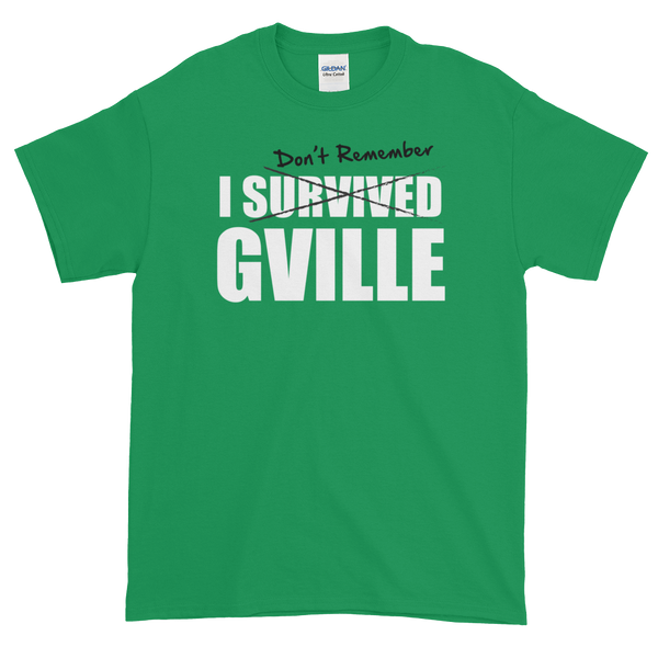 I Don't Remember GVILLE Short-Sleeve T-Shirt