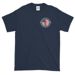 Shamokin Fire Bureau Navy Short-Sleeve T-Shirt