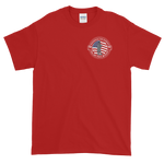 Shamokin Fire Bureau Red Short-Sleeve T-Shirt