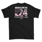 Natalie Fire Co. Breast Cancer Awareness Small Ribbon Short Sleeve T-Shirt