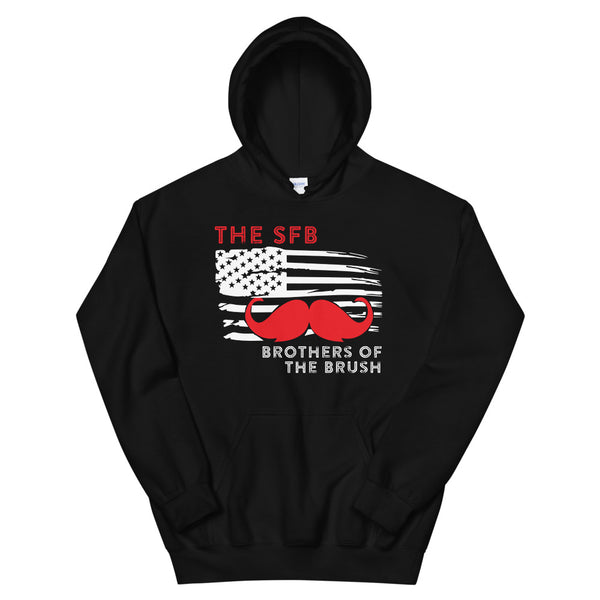 Brothers of the Brush Red Stash Unisex Hoodie