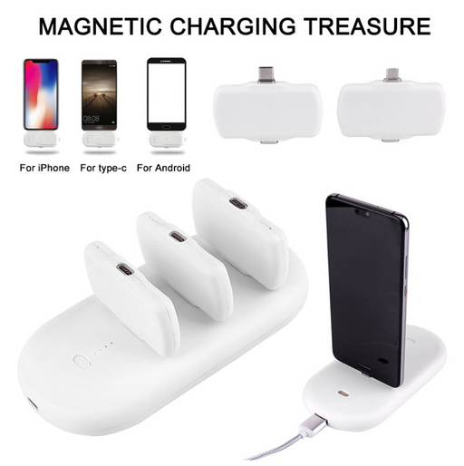 Fast Charging Mini Magnetic Power Bank for Mobile Phones