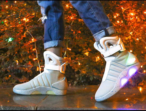 Back to the Future Light Up Shoes