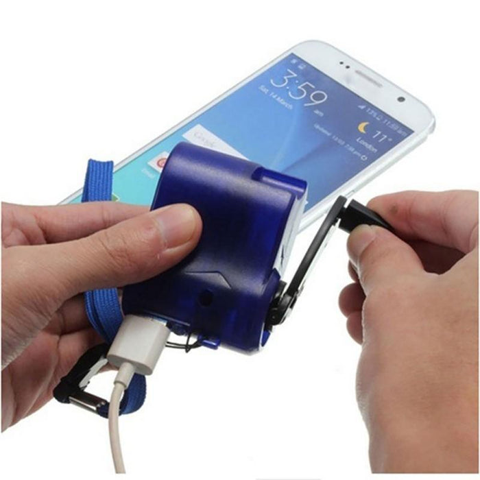 Hand Crank Charger