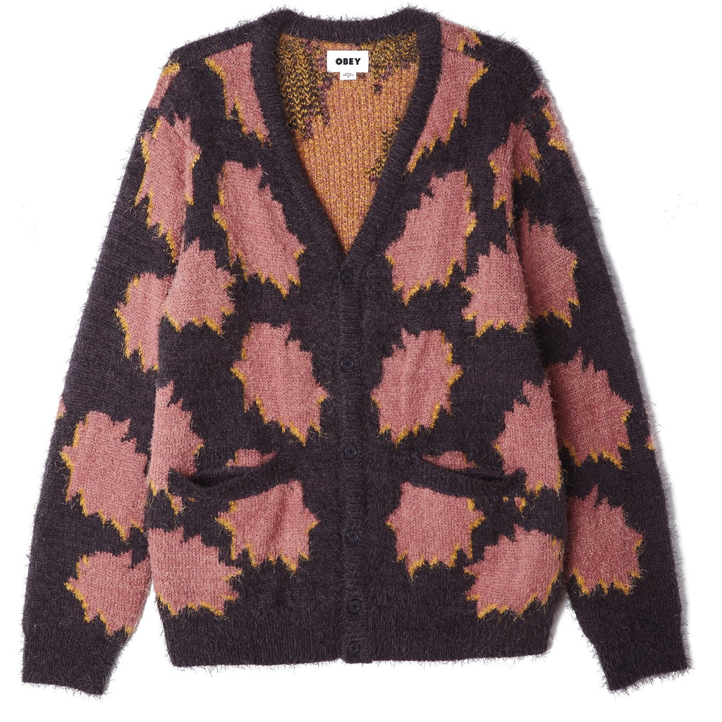 Crackle Cardigan - Navy