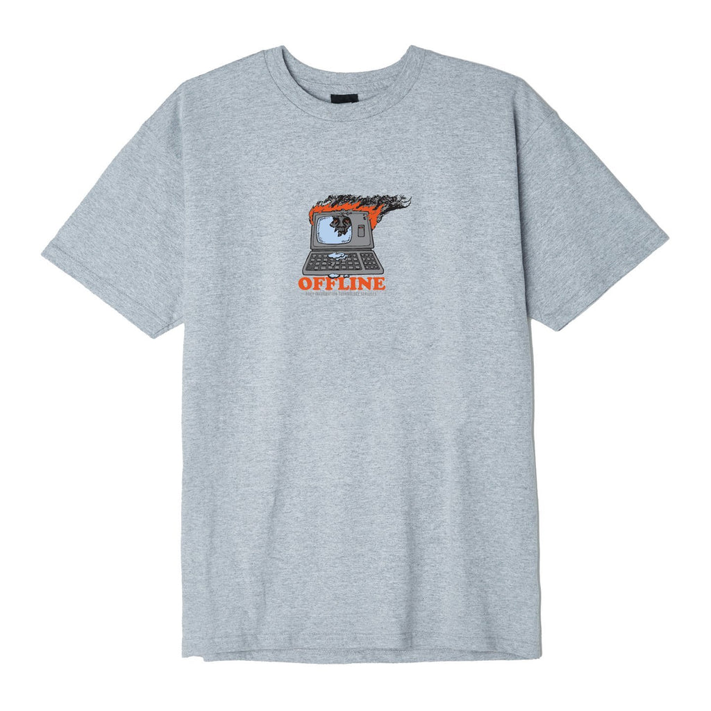 Offline Tee - Heather Grey