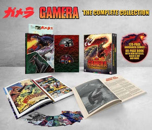 Gamera: The Complete Collection (8 Disc) - Blu Ray