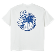 World Tee - White