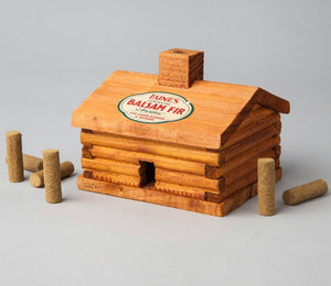 Log Cabin Burner