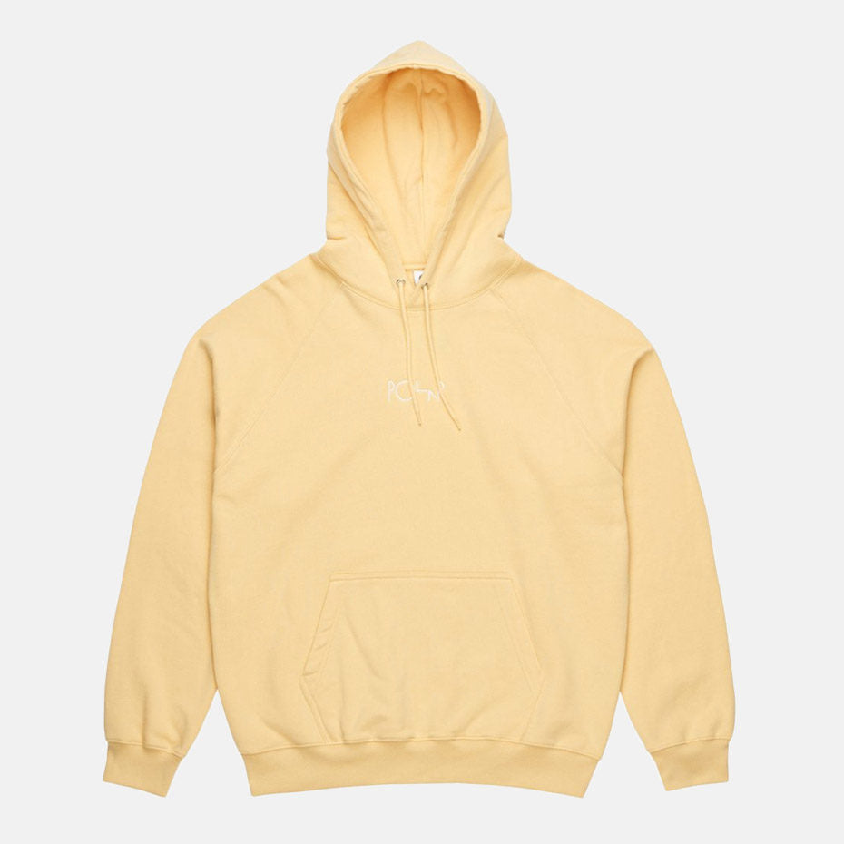 Default Fleece Hoodie - Yellow