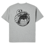 World Tee - Heather Grey