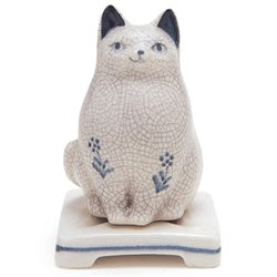 Ceramic Cat Incense Burner