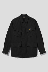Tropical jacket - Black Nylon Nyco