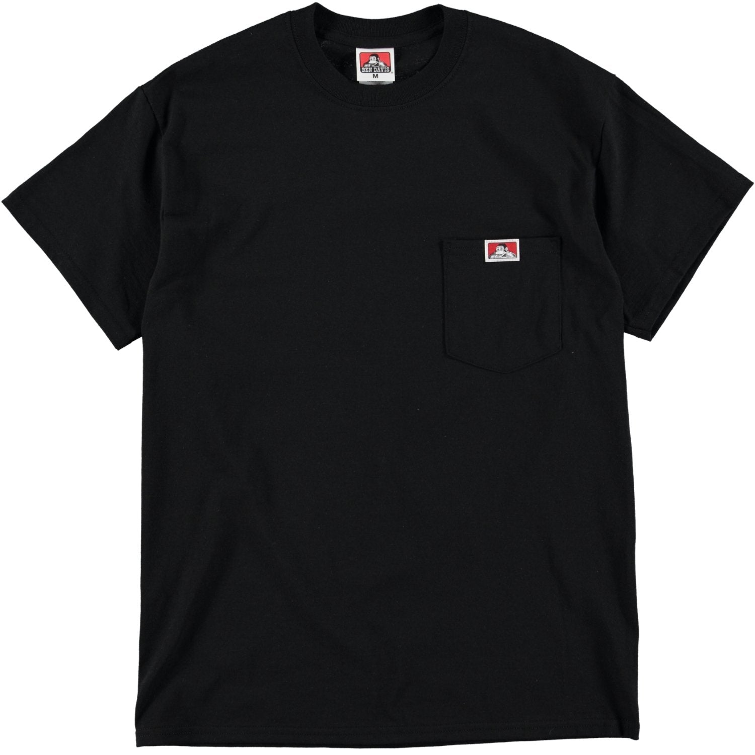 Heavy Duty Pocket Tee - Black