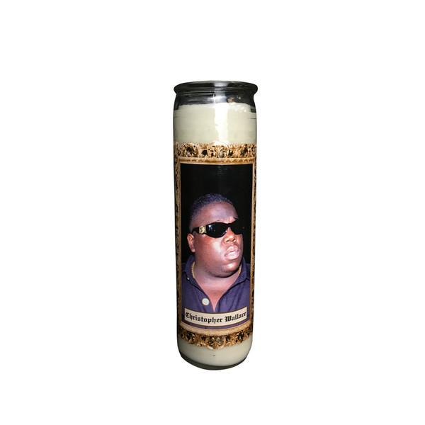Biggie Memorial Candle