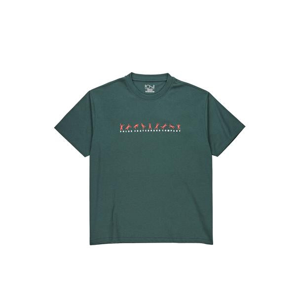 Cartwheel Tee - Grey Teal