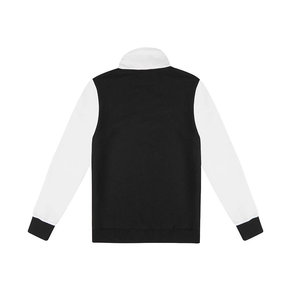 Handsford Half Zip - Black/White
