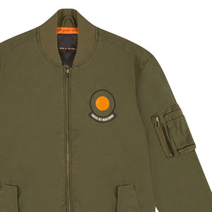 Elias Croc Bomber - Pine/Orange