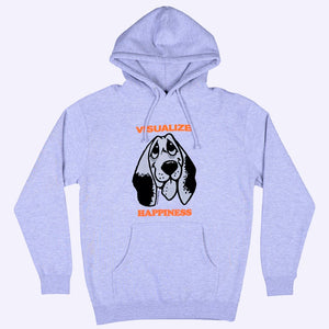 Happiness Hooded Sweater - Heather Grey