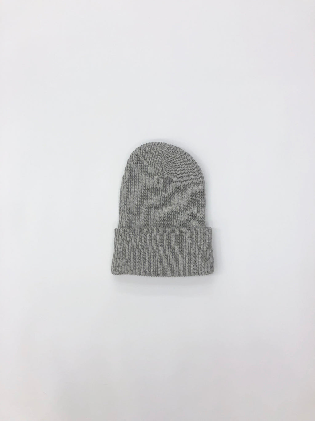 Cotton Watch Cap - Light Grey