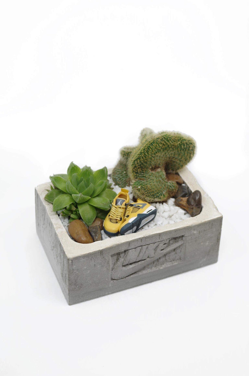 Nike Concrete Sneaker Box Planter