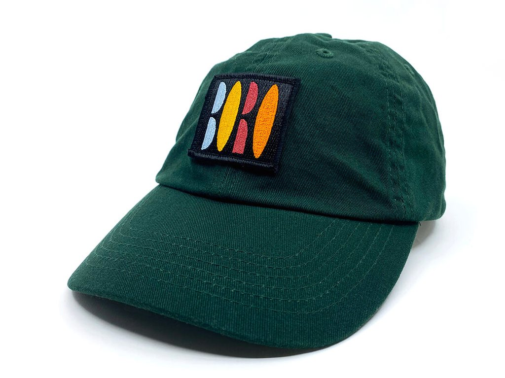 VHS Dad Cap - Forest Green
