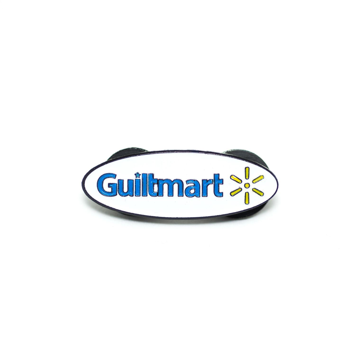 Guiltmart Pin