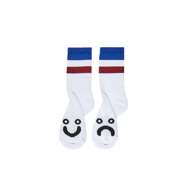Happy Sad Socks Stripes - Blue