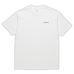 World Tee - White/Black
