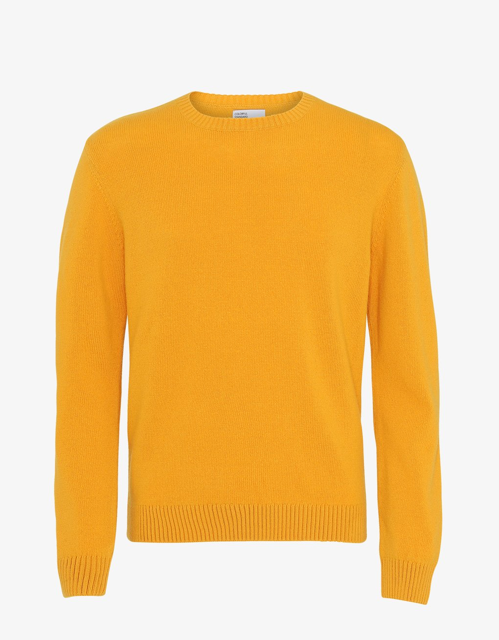 Classic Merino Wool Crew - Burned Yellow