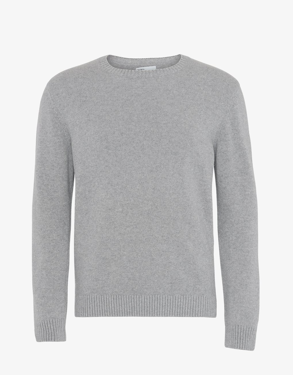 Classic Merino Wool Crew - Heather Grey