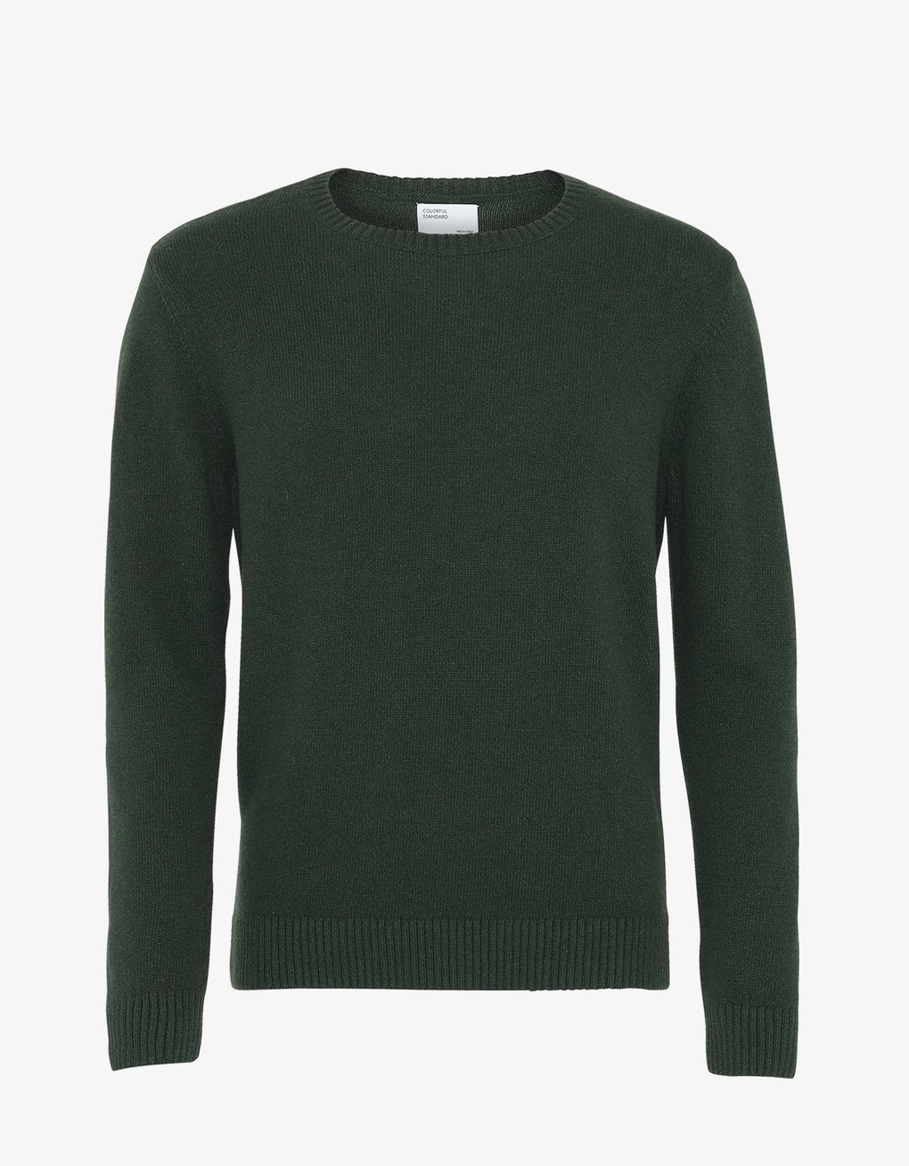 Classic Merino Wool Crew - Hunter Green